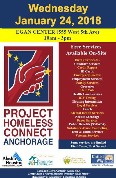 The Alaska Training Cooperative Project Homeless Connect